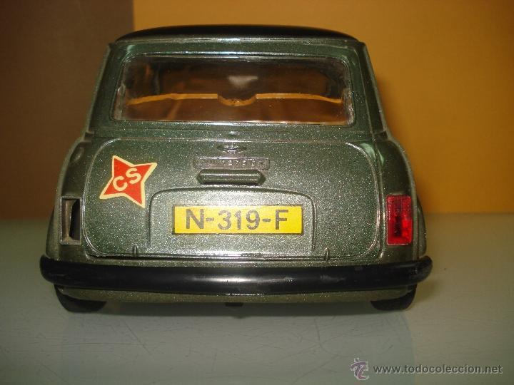 Juguetes antiguos Sanchís: Antiguo y Precioso MINI 1275 GT RALLY a Fricción de Juguetes SANCHIS de IBI . Año 1960s. - Foto 3 - 40298554