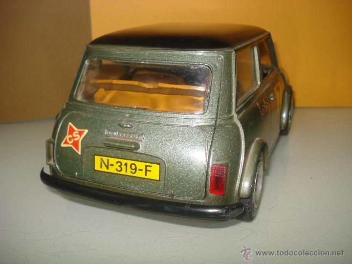 Juguetes antiguos Sanchís: Antiguo y Precioso MINI 1275 GT RALLY a Fricción de Juguetes SANCHIS de IBI . Año 1960s. - Foto 4 - 40298554