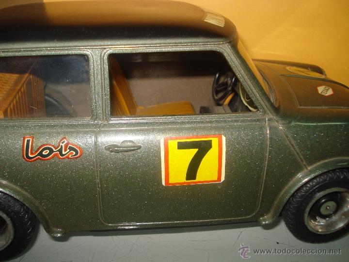 Juguetes antiguos Sanchís: Antiguo y Precioso MINI 1275 GT RALLY a Fricción de Juguetes SANCHIS de IBI . Año 1960s. - Foto 9 - 40298554