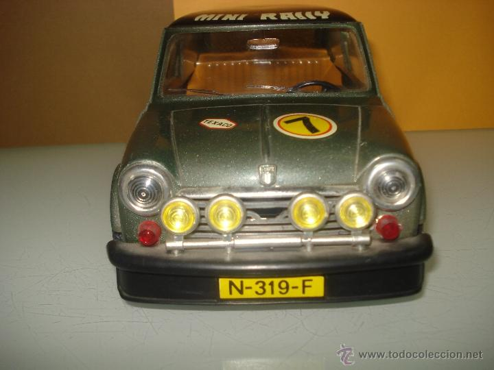 Juguetes antiguos Sanchís: Antiguo y Precioso MINI 1275 GT RALLY a Fricción de Juguetes SANCHIS de IBI . Año 1960s. - Foto 10 - 40298554