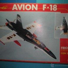 Juguetes antiguos Sanchís: AVION DE FRICCION F-18 DE SANCHIS. Lote 40649264