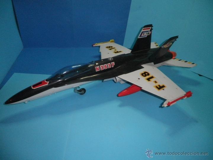 Juguetes antiguos Sanchís: AVION DE FRICCION F-18 DE SANCHIS - Foto 2 - 40649264