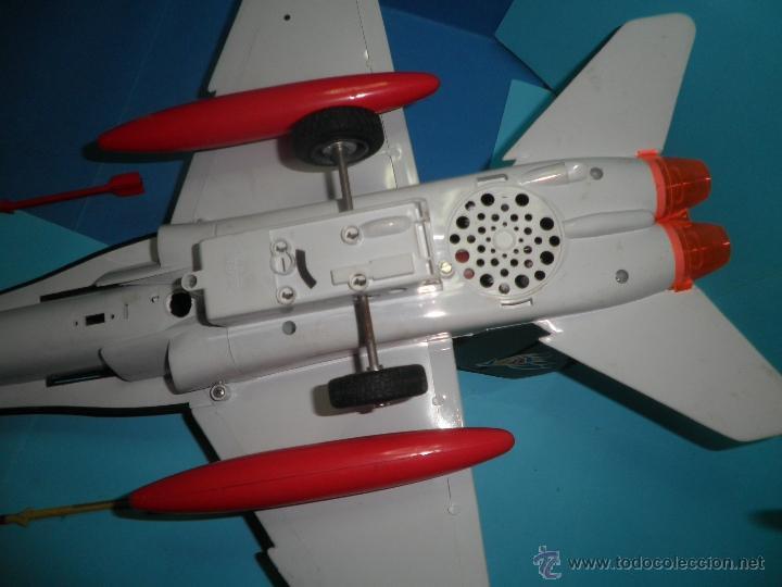 Juguetes antiguos Sanchís: AVION DE FRICCION F-18 DE SANCHIS - Foto 8 - 40649264