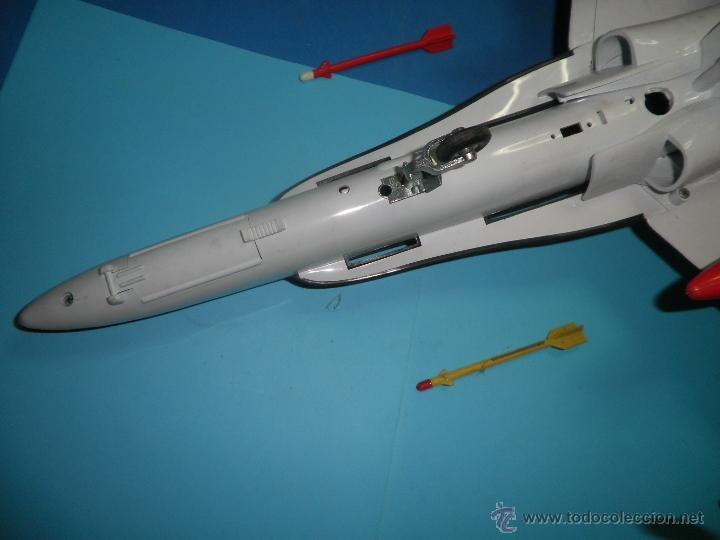 Juguetes antiguos Sanchís: AVION DE FRICCION F-18 DE SANCHIS - Foto 9 - 40649264