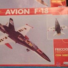Juguetes antiguos Sanchís: AVION F-18 SANCHIS EN CAJA. Lote 42498035