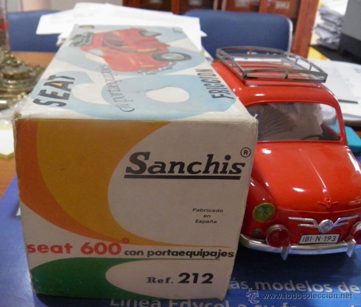 Juguetes antiguos Sanchís: SEAT 600 DE SANCHIS EN SU CAJA - Foto 9 - 45262027