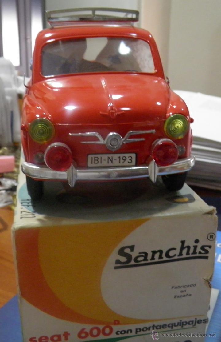 Juguetes antiguos Sanchís: SEAT 600 DE SANCHIS EN SU CAJA - Foto 12 - 45262027