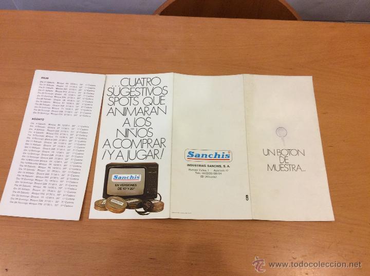 Juguetes antiguos Sanchís: SANCHIS 2 PUBLICIDADES DIRIGIDOS SANCHIS TVE - Foto 3 - 45874618