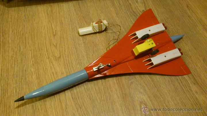 Juguetes antiguos Sanchís: Avion de juguete concorde de sanchis - Foto 5 - 46457228