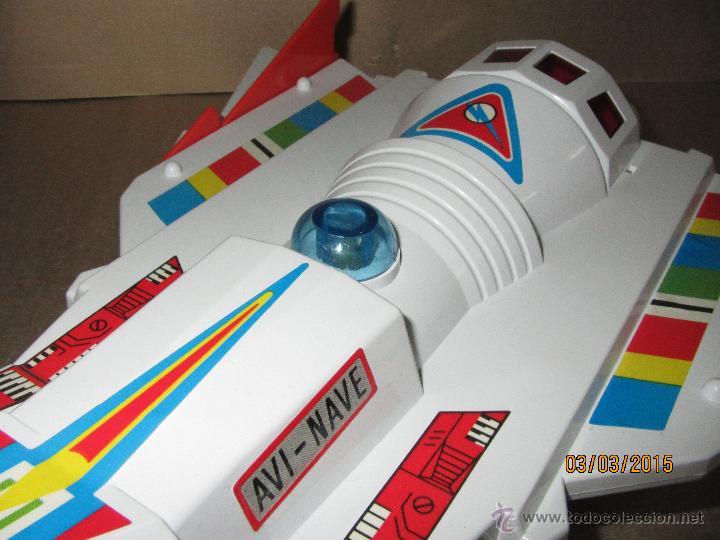 Juguetes antiguos Sanchís: Antigua Nave Espacial Platillo Volante AVI NAVE de SANCHIS a Estrenar - Foto 3 - 48108622