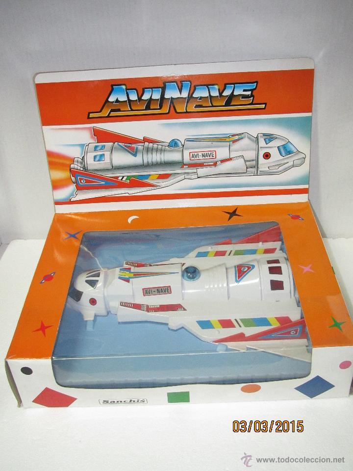 Juguetes antiguos Sanchís: Antigua Nave Espacial Platillo Volante AVI NAVE de SANCHIS a Estrenar - Foto 8 - 48108622
