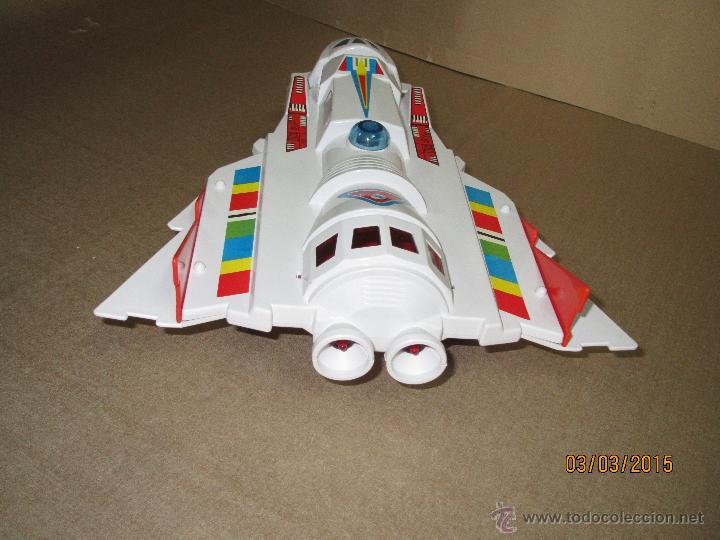 Juguetes antiguos Sanchís: Antigua Nave Espacial Platillo Volante AVI NAVE de SANCHIS a Estrenar - Foto 11 - 48108622