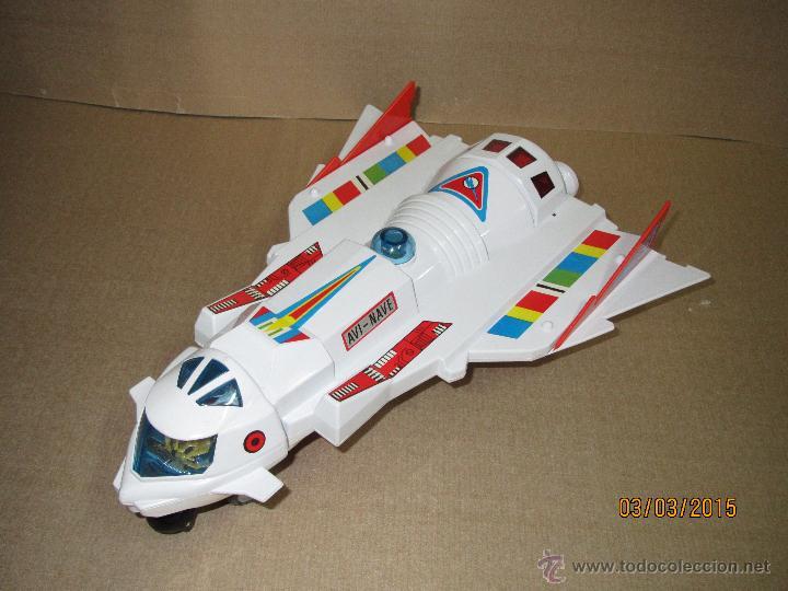 Juguetes antiguos Sanchís: Antigua Nave Espacial Platillo Volante AVI NAVE de SANCHIS a Estrenar - Foto 13 - 48108622