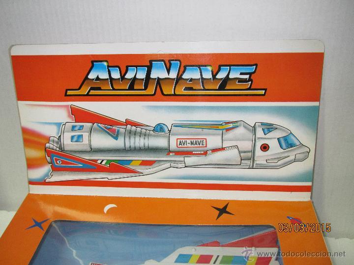 Juguetes antiguos Sanchís: Antigua Nave Espacial Platillo Volante AVI NAVE de SANCHIS a Estrenar - Foto 16 - 48108622