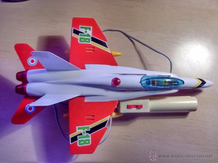 AVION F18 - SANCHIS -CABLEDIRIGIDO (Juguetes - Marcas Clásicas - Sanchís)