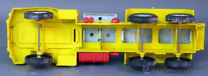 Juguetes antiguos Sanchís: Camión Safari Sanchís Lanza Misiles con proyectiles y caja años 70 - Foto 5 - 53000864