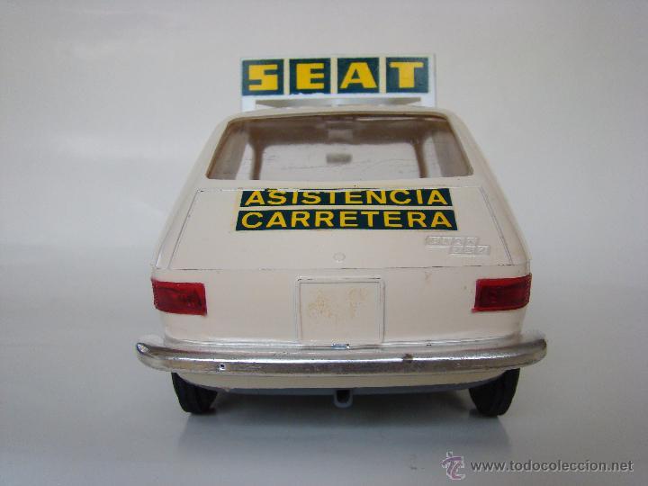 Juguetes antiguos Sanchís: SANCHÍS - SEAT 127 ASISTENCIA EN CARRETERA- NUEVO EN CAJA - GIUSSEPPE - Foto 6 - 53523925