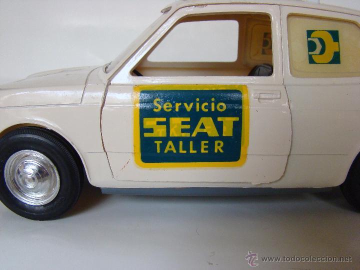Juguetes antiguos Sanchís: SANCHÍS - SEAT 127 ASISTENCIA EN CARRETERA- NUEVO EN CAJA - GIUSSEPPE - Foto 7 - 53523925