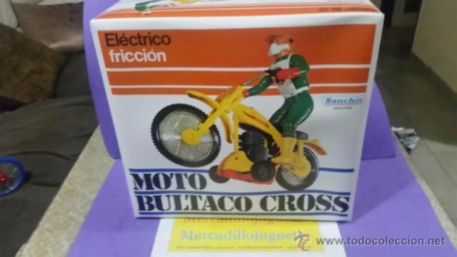 Juguetes antiguos Sanchís: MOTO BULTACO SANCHIS - Foto 3 - 54547227