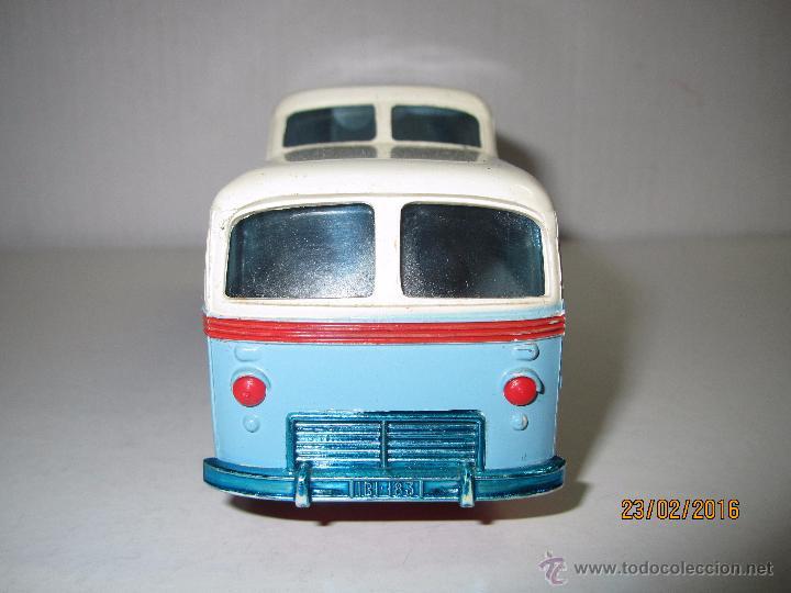 Juguetes antiguos Sanchís: Antiguo Autobus PEGASO Z-403 Monocasco IBERIA 1950 a Fricción de Juguetes SANCHIS IBI - Año 1960-70s - Foto 3 - 55224396