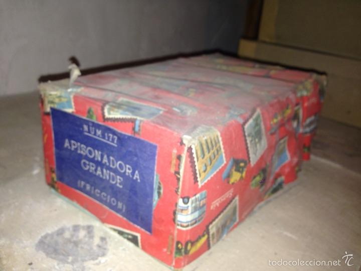 Juguetes antiguos Sanchís: Apisonadora de Sanchís 1970-80 original - Foto 2 - 56752589