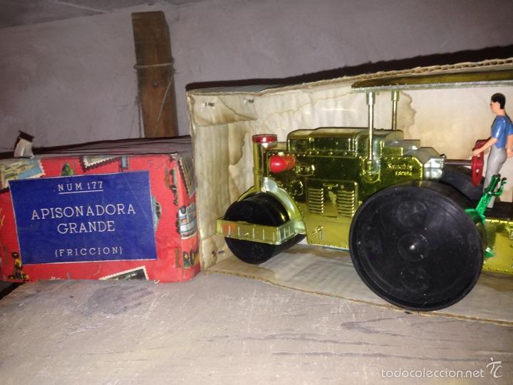 Juguetes antiguos Sanchís: Apisonadora de Sanchís 1970-80 original - Foto 3 - 56752589