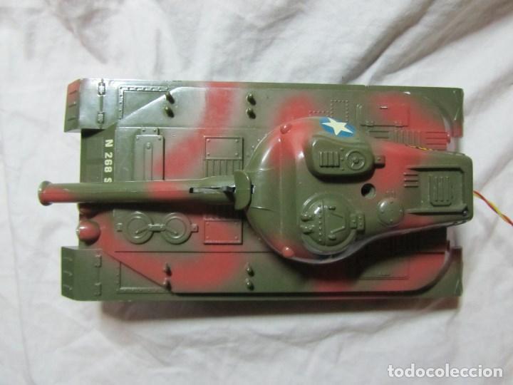 Juguetes antiguos Sanchís: Carro de combate Lanza misiles Sanchis, funcionando, en caja original - Foto 4 - 67762833