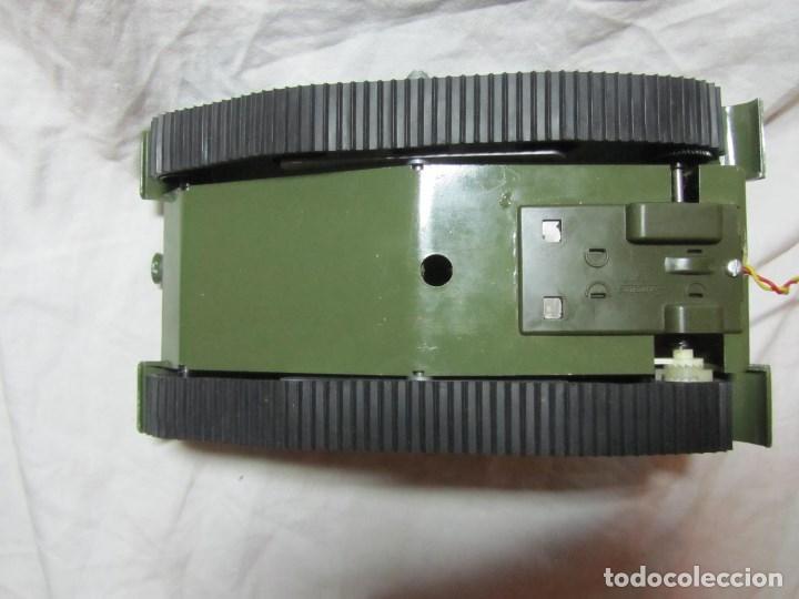 Juguetes antiguos Sanchís: Carro de combate Lanza misiles Sanchis, funcionando, en caja original - Foto 6 - 67762833