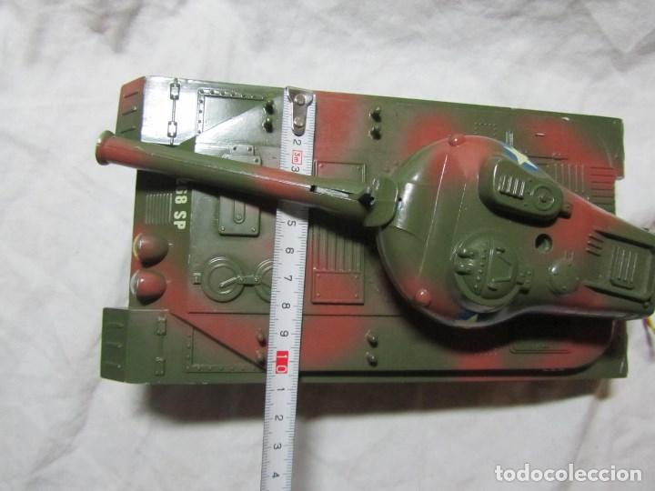Juguetes antiguos Sanchís: Carro de combate Lanza misiles Sanchis, funcionando, en caja original - Foto 11 - 67762833