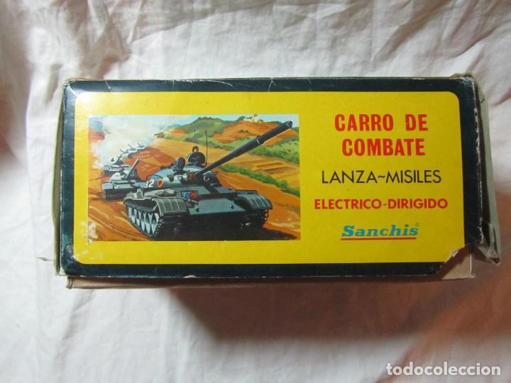 Juguetes antiguos Sanchís: Carro de combate Lanza misiles Sanchis, funcionando, en caja original - Foto 14 - 67762833