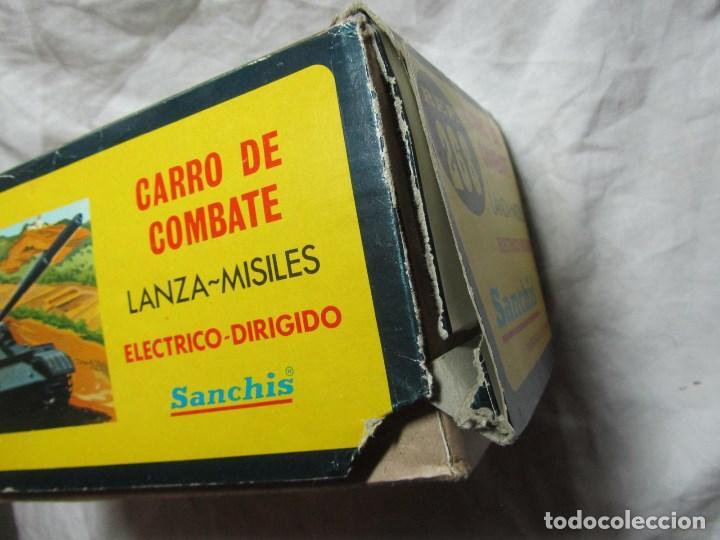 Juguetes antiguos Sanchís: Carro de combate Lanza misiles Sanchis, funcionando, en caja original - Foto 15 - 67762833