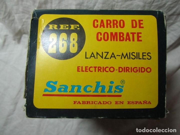 Juguetes antiguos Sanchís: Carro de combate Lanza misiles Sanchis, funcionando, en caja original - Foto 16 - 67762833