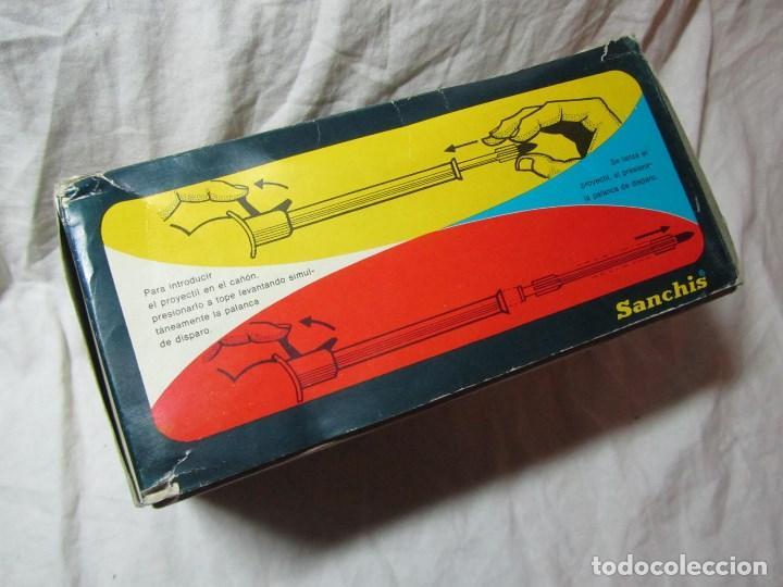 Juguetes antiguos Sanchís: Carro de combate Lanza misiles Sanchis, funcionando, en caja original - Foto 17 - 67762833