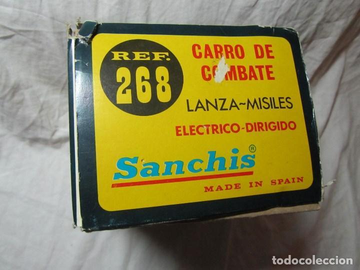 Juguetes antiguos Sanchís: Carro de combate Lanza misiles Sanchis, funcionando, en caja original - Foto 18 - 67762833