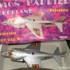 Juguetes antiguos Sanchís: AVION HARRIER AEROPLANE DE SANCHIS - REF. 333F - FRICCION. Lote 68530367