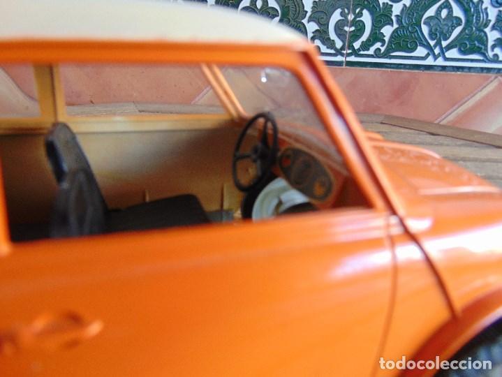 Juguetes antiguos Sanchís: COCHE MINI 1275 GT NARANJA DE SANCHIS A FRICCION MIDE 25.5 CM - Foto 5 - 72700347