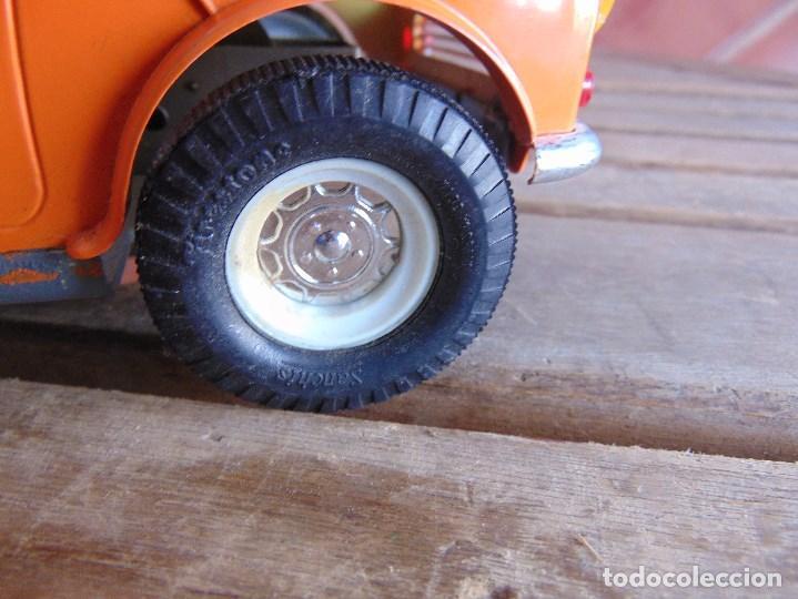 Juguetes antiguos Sanchís: COCHE MINI 1275 GT NARANJA DE SANCHIS A FRICCION MIDE 25.5 CM - Foto 6 - 72700347