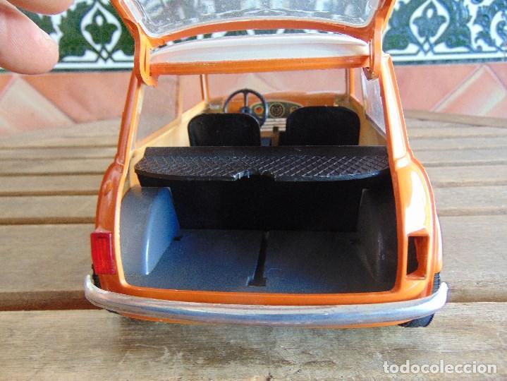 Juguetes antiguos Sanchís: COCHE MINI 1275 GT NARANJA DE SANCHIS A FRICCION MIDE 25.5 CM - Foto 10 - 72700347