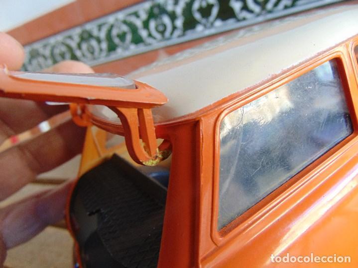 Juguetes antiguos Sanchís: COCHE MINI 1275 GT NARANJA DE SANCHIS A FRICCION MIDE 25.5 CM - Foto 11 - 72700347