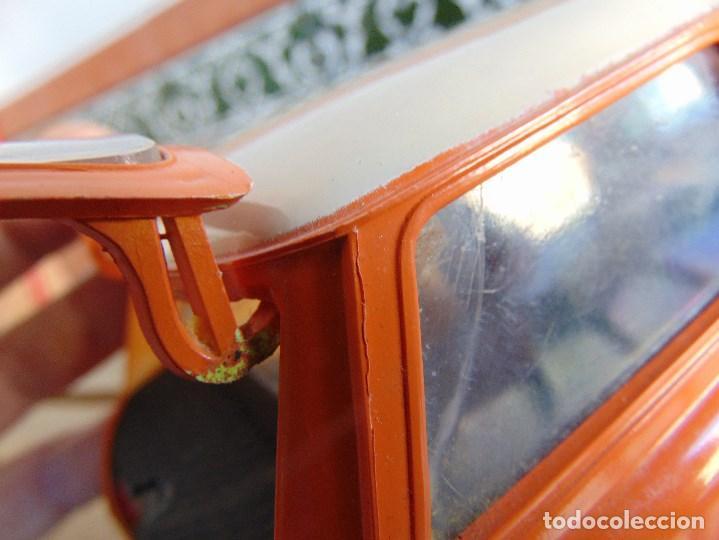 Juguetes antiguos Sanchís: COCHE MINI 1275 GT NARANJA DE SANCHIS A FRICCION MIDE 25.5 CM - Foto 12 - 72700347