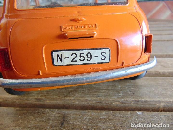 Juguetes antiguos Sanchís: COCHE MINI 1275 GT NARANJA DE SANCHIS A FRICCION MIDE 25.5 CM - Foto 13 - 72700347