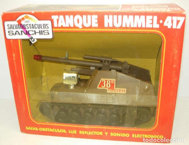 TANQUE HUMMEL-417 SALVAOBSTACULOS DE SANCHIS ,VEHÍCULO MILITAR, NUEVO CON CAJA (Juguetes - Marcas Clásicas - Sanchís)