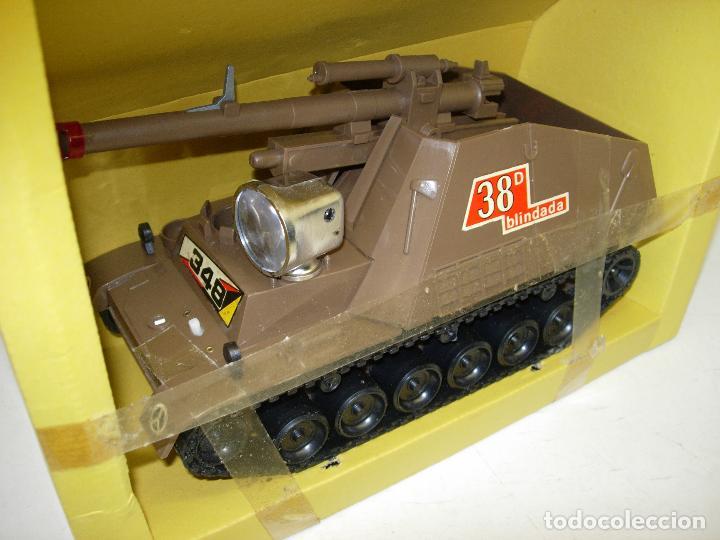Juguetes antiguos Sanchís: TANQUE HUMMEL-417 salvaobstaculos de SANCHIS ,vehículo militar, nuevo con caja - Foto 4 - 75803114