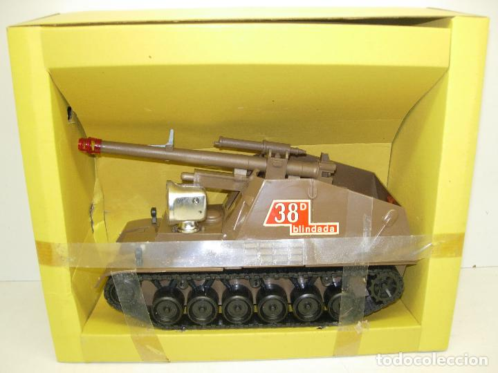 Juguetes antiguos Sanchís: TANQUE HUMMEL-417 salvaobstaculos de SANCHIS ,vehículo militar, nuevo con caja - Foto 5 - 75803114