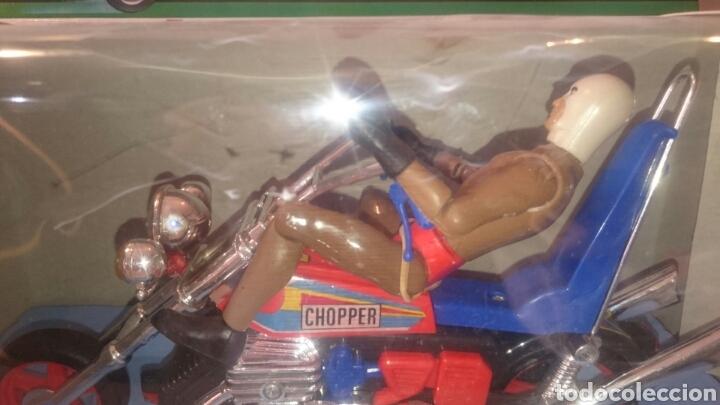 Juguetes antiguos Sanchís: MOTO CHOPPER FABRICA JUGUETES SANCHIS (IBI) - Foto 5 - 89039896