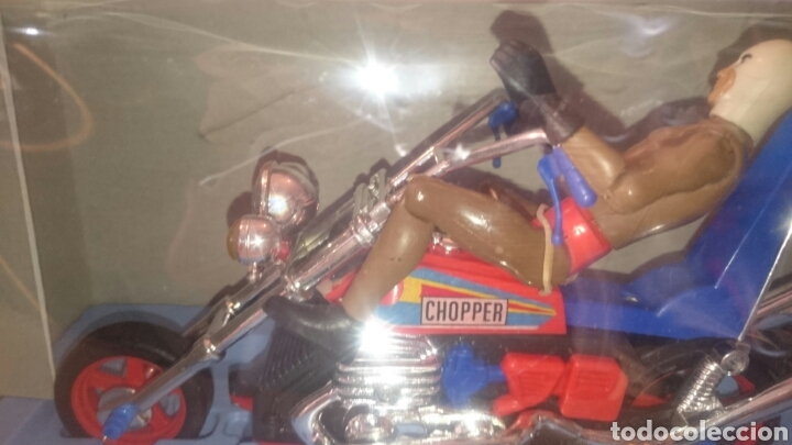 Juguetes antiguos Sanchís: MOTO CHOPPER FABRICA JUGUETES SANCHIS (IBI) - Foto 6 - 89039896