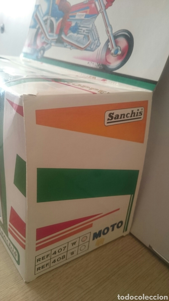 Juguetes antiguos Sanchís: MOTO CHOPPER FABRICA JUGUETES SANCHIS (IBI) - Foto 7 - 89039896