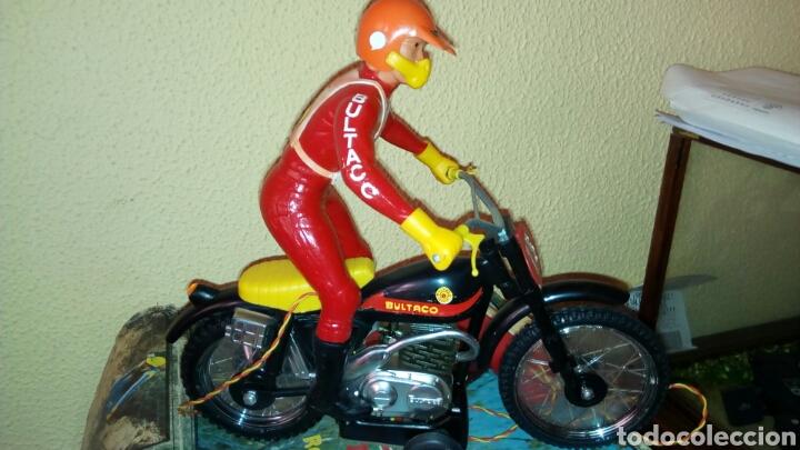 juguetes antiguos sanchs sanchis moto bultaco trial electricano payarico