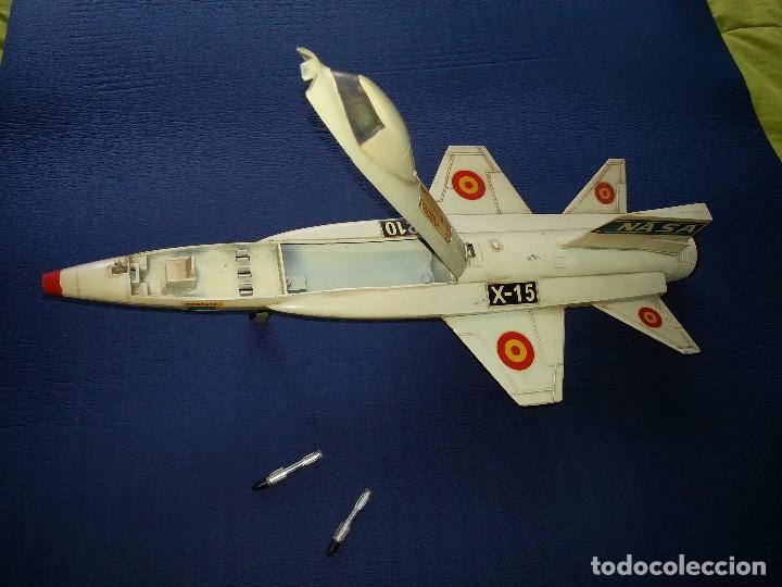 Juguetes antiguos Sanchís: Sanchis avion x-15 X 15 Nasa - Foto 4 - 95461699