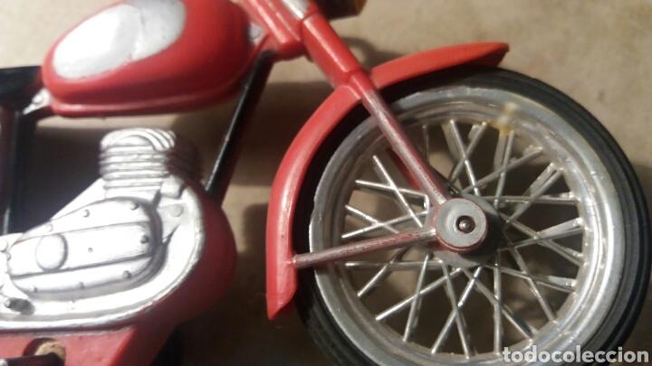 Juguetes antiguos Sanchís: Pieza unica, moto años 60 . Prototipo Sanchis Ibi Alicante. - Foto 4 - 95877038
